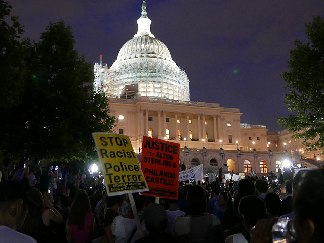 March from the White House to the Capitol. Image by Susan Melkisethian
