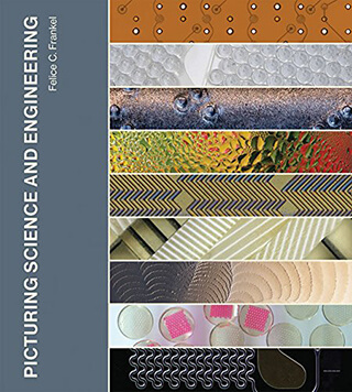 "Image of book cover for ""Picturing Science and Engineering,"" featuring parts of nine scientific images."