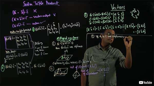 Instructor writing on a light board