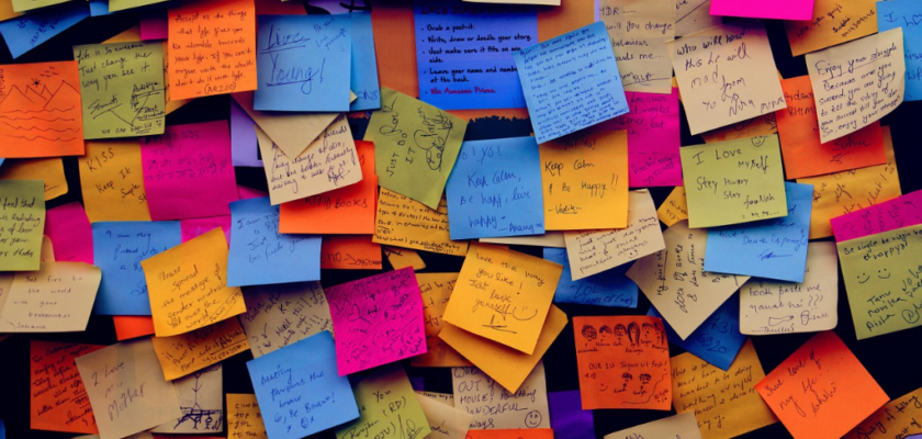 Post it notes image